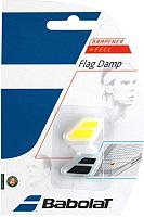 Виброгаситель для теннисной ракетки Babolat Flag Damp / 700032-142 (черный/желтый) -