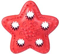 Игрушка для животных Barry King Звезда / BK-15101 (красный) -