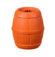 Игрушка для животных Barry King Бочка / BK-15412 (оранжевый) -