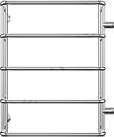 Полотенцесушитель водяной Terminus Стандарт 32/20 П5 500x696 (с боковым подключением, м/о 500) -