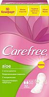 Прокладки ежедневные Carefree Aloe (32шт) -