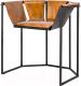 Кресло Black Owl Ganzania (черный/рыжий) -