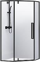 Душевой уголок RGW SV-81-B / 32328100-14 (прозрачное стекло/черный) -