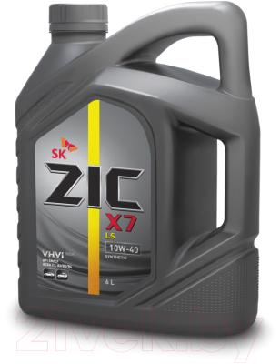 Моторное масло ZIC X7 LS 10W40 / 172620 (6л)