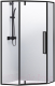 Душевой уголок RGW SV-81-B / 32328188-14 (прозрачное стекло/черный) -