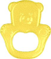 Прорезыватель для зубов BabyOno Медвежонок / 1013 (желтый) -