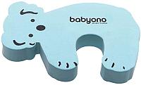Фиксатор для двери BabyOno Животные / 958 (голубой) -