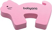 Фиксатор для двери BabyOno Животные / 958 (розовый) -