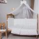 Балдахин на кроватку Баю-Бай Геометрия Б10-Г4 (синий) -