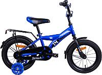Детский велосипед AIST Stitch 2019 (14, синий) -