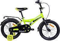 Детский велосипед AIST Stitch 2019 (16, желтый) -