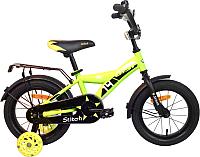 Детский велосипед AIST Stitch 2019 (14, желтый) -