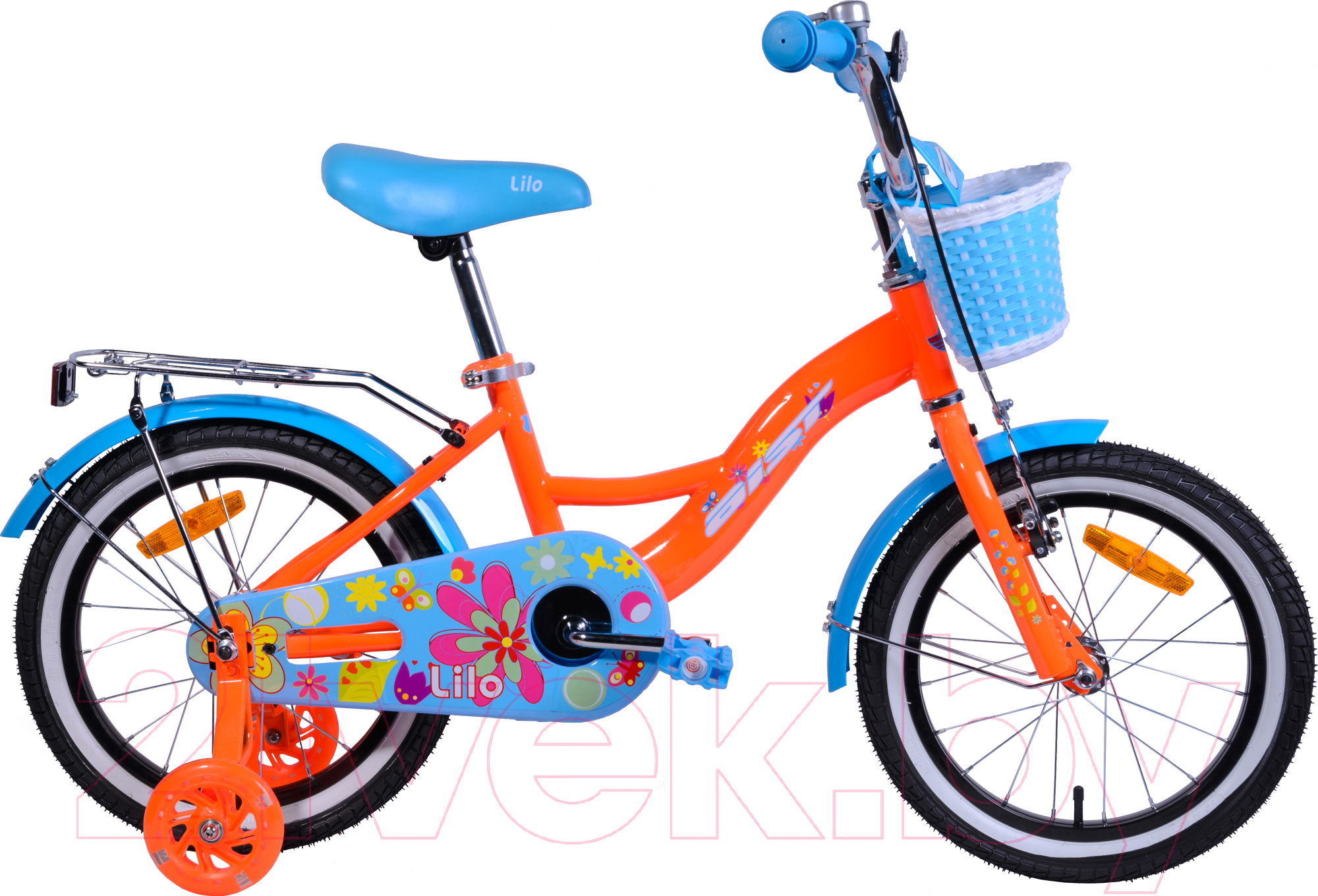 Купить Детский велосипед AIST, Lilo 2019 (16, оранжевый), Беларусь