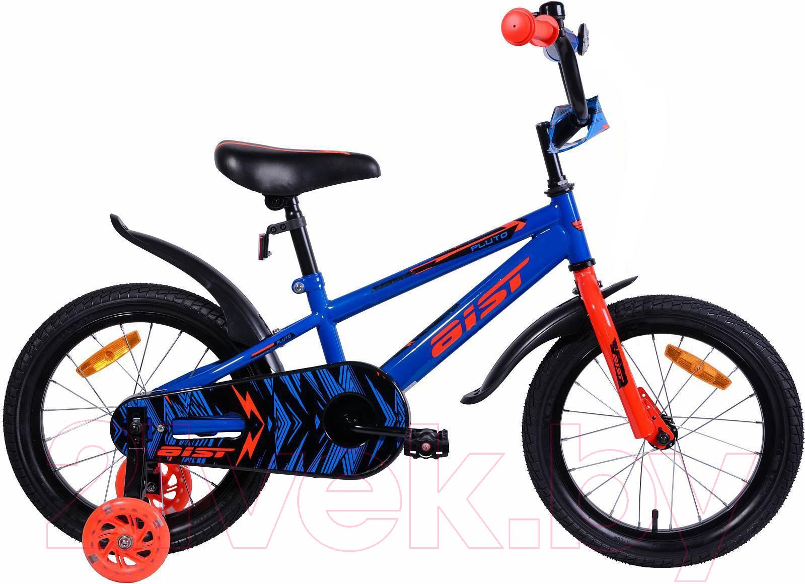 Купить Детский велосипед AIST, Pluto 2019 (14, синий), Беларусь