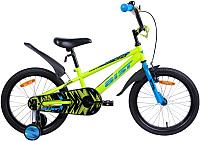 Детский велосипед AIST Pluto 2019 (18, желтый) -
