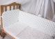 Комплект в кроватку Баю-Бай Геометрия К60-Г4 (синий) -