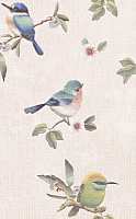 Декоративная плитка PiezaRosa Criaturas Deco 1 123262 (250x400, светло-бежевый) -