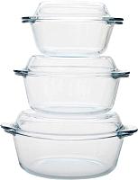Комплект посуды для СВЧ Borcam 159021 / 1017166 -