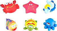 Набор игрушек для ванной Roxy-Kids Морские обитатели / RRT-811-2 -