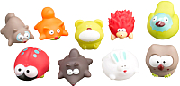 Набор игрушек для ванной Roxy-Kids Лесные жители / RRT-823-2 -