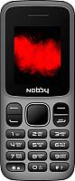 Мобильный телефон Nobby 101 (серый/черный) -