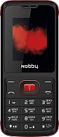 Мобильный телефон Nobby 110 (черный/красный) -