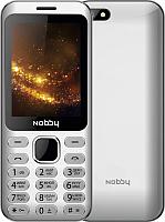 Мобильный телефон Nobby 320 (серебристый) -