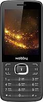 Мобильный телефон Nobby 330T (черный/серый) -