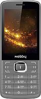 Мобильный телефон Nobby 330T (серый/черный) -