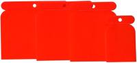 Набор шпателей Topex Top Tools 18B437 (красный) -