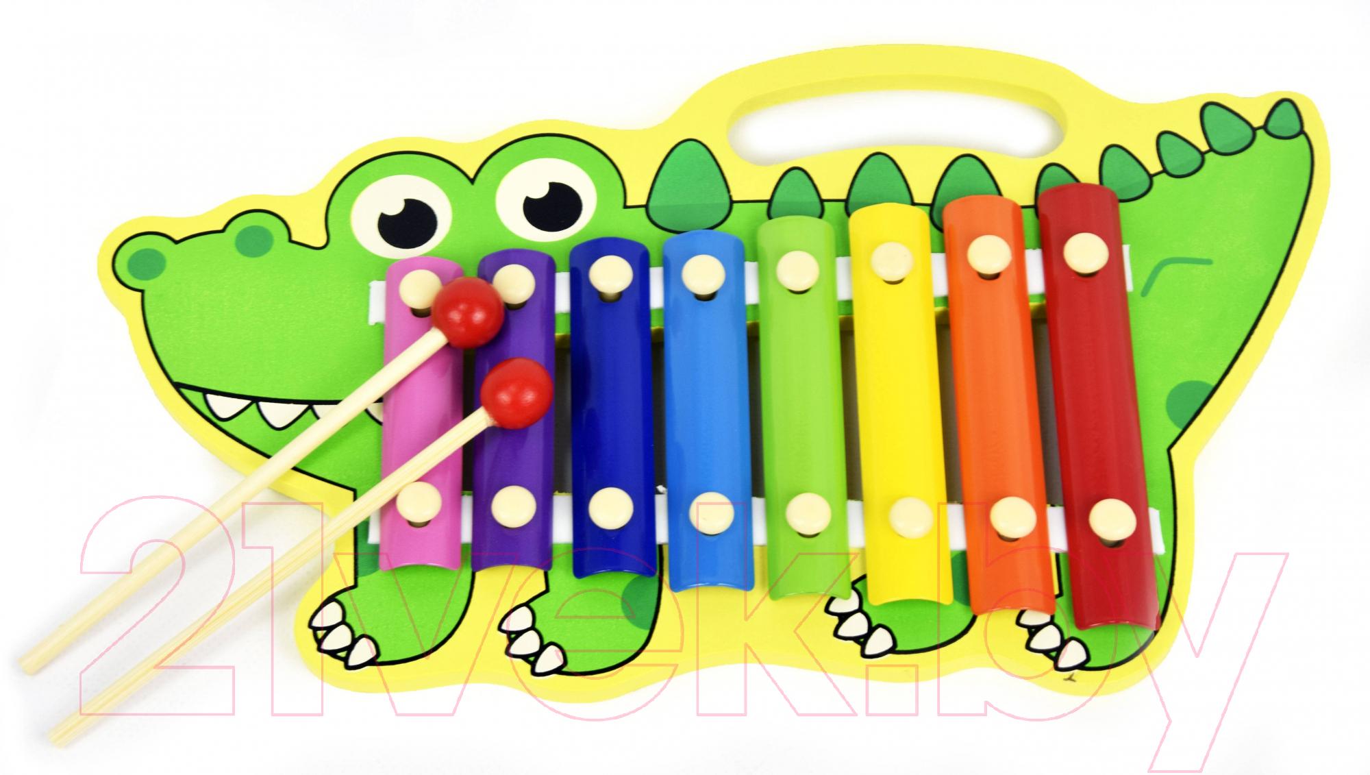 Купить Музыкальная игрушка Ausini, Ксилофон / 8851, Китай, зеленый