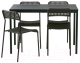 Обеденная группа Ikea Тэрендо/Адде 792.297.78 -
