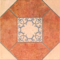 Декоративная плитка Mainzu Olhambrilla Barro (200x200) -