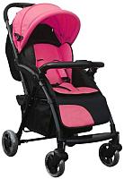 Детская прогулочная коляска INDIGO Samba (розовый) -