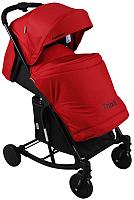 Детская прогулочная коляска INDIGO Triniti (красный) -