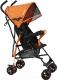 Детская прогулочная коляска INDIGO Bono (оранжевый) -