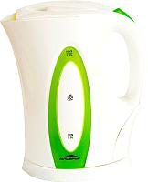 Электрочайник Delta Эльбрус-4 (белый/зеленый) -