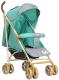 Детская прогулочная коляска INDIGO Lili (салатовый) -