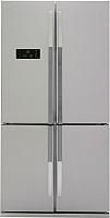Холодильник с морозильником Beko GNE114610FX -
