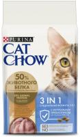 Корм для кошек Cat Chow 3 в 1 полнорационный (1.5кг) -