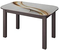 Обеденный стол Senira P-02.06/01-7225 (венге) -