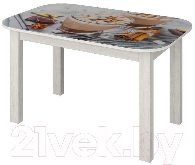 Купить Обеденный стол Senira, P-02.06/01-7817 (белый), Беларусь