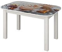 Обеденный стол Senira P-02.06-02/01-7817 (белый) -
