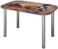 Обеденный стол Senira P-001-02/01-7804 (хром) -