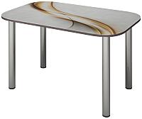 Обеденный стол Senira P-001-02/01-7225 (хром) -