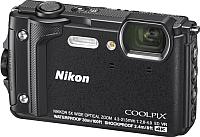 Компактный фотоаппарат Nikon Coolpix W300 (черный) -