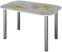 Обеденный стол Senira P-001-02/01-7194 (хром) -