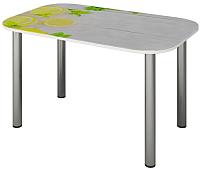 Обеденный стол Senira P-001-02/01-7265 (хром) -