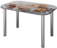 Обеденный стол Senira P-001-02/01-7817 (хром) -