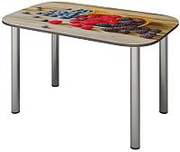 Обеденный стол Senira P-001-01/01-7809 (хром) -